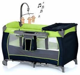 Манеж-кроватка Hauck Baby Center moonlight kiwi