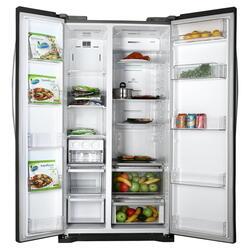 Холодильник LG GC-B207GMQV серебристый