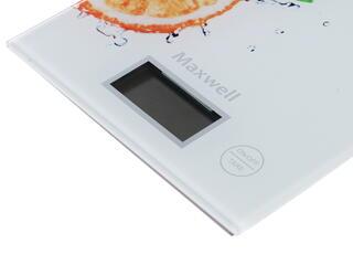 Кухонные весы Maxwell MW1458 белый