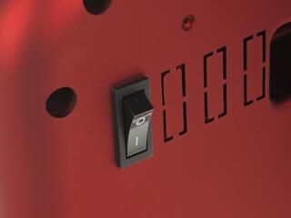Электрокамин Daewoo Electronics DFPH-2040 красный