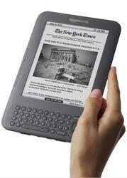 6'' Электронная книга Amazon Kindle Keyboard черный