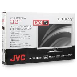 "32"" (81 см)  LED-телевизор JVC LT-32M340W белый"
