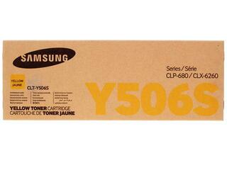 Картридж лазерный Samsung CLT-Y506S