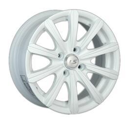 Автомобильный диск литой LS 391 6x14 4/98 ET 35 DIA 58,6 White