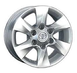 Автомобильный диск литой Replay TY87 7x16 6/105 ET 39 DIA 56,6 Sil