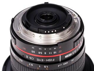 Объектив Samyang 8mm F3.5 AS IF UMC Fish-eye CS II AE