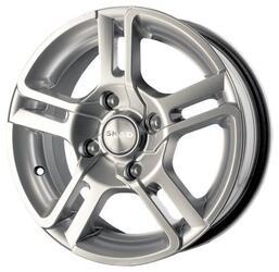 Автомобильный диск литой Скад Спрут 5,5x14 4/108 ET 37 DIA 66,6 Селена