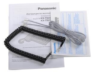 Телефон проводной Panasonic KX-TS2358RUB