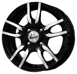 Автомобильный диск литой iFree Стерлинг 5x13 4/98 ET 30 DIA 58,5 Блэк Джек