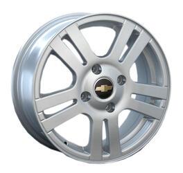 Автомобильный диск литой Replay GN18 6x15 4/100 ET 49 DIA 56,6 Sil