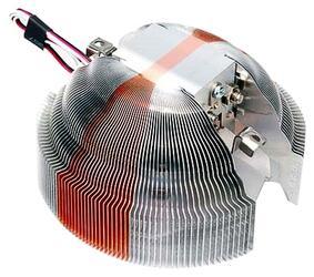 Кулер Zalman 7000C OEM AlCu/AlCu LED (Алюминий+Медь,17-24 дБ, 1350-2400 об/мин) S775/AM2/754/939/940
