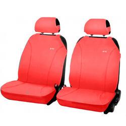 Накидка на сиденье H&R MAGIC FRONT передняя, эластик, красная