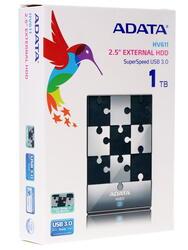 "2.5"" Внешний HDD AData [AHV611-1TU3-CBK]"