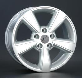 Автомобильный диск литой Replay RN73 6,5x17 5/114,3 ET 40 DIA 66,1 Sil