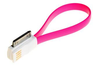 Кабель Solomon USB - 30-pin фиолетовый