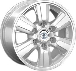 Автомобильный диск литой Replay TY108 7x16 6/139,7 ET 30 DIA 106,1 Sil