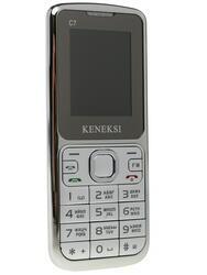 Сотовый телефон Keneksi C7 серебристый