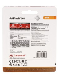 Память USB Flash Transcend JetFlash 560 8 Гб