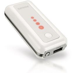 Портативный аккумулятор Philips DLP3600U белый