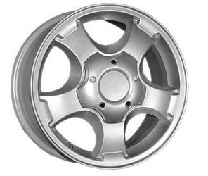 Автомобильный диск  K&K Секвойя 7x16 5/139,7 ET 35 DIA 108,5 Блэк платинум