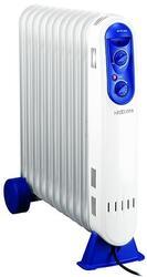 Масляный радиатор Neoclima Slim NC 2109-S белый