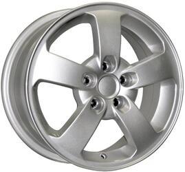 Автомобильный диск Литой K&K КС196 6x15 5/100 ET 43 DIA 57,1 Сильвер
