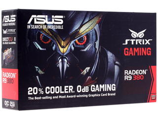 Видеокарта ASUS AMD Radeon R9 380 STRIX [STRIX-R9380-DC2OC-2GD5-GAMING]