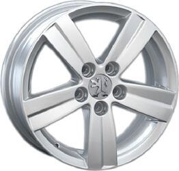 Автомобильный диск Литой LegeArtis PG44 6,5x16 5/130 ET 68 DIA 78,1 Sil