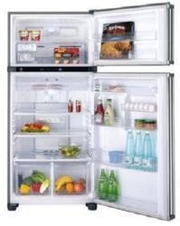 Холодильник с морозильником Sharp SJPT441RB бежевый