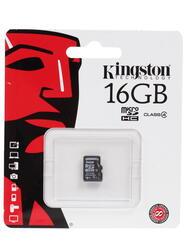 Карта памяти Kingston SDC4/16GBSP microSDHC 16 Гб