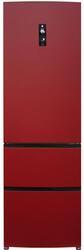 Холодильник с морозильником Haier A2FE635CRJ красный