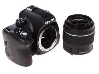 Зеркальная камера Pentax K-50 kit DA L 18-55mm WR черный
