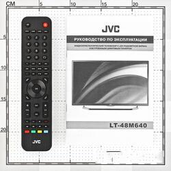 "48"" (121 см)  LED-телевизор JVC LT-48M640 черный"