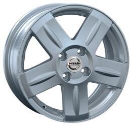 Автомобильный диск литой Replay NS117 6x15 4/100 ET 50 DIA 60,1 Sil