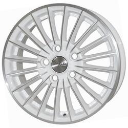 Автомобильный диск литой Скад Веритас 6x15 4/139,7 ET 40 DIA 66,1 Алмаз белый