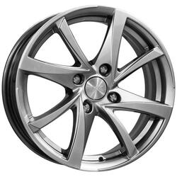 Автомобильный диск литой K&K Игуана 6,5x16 5/108 ET 50 DIA 63,35 Блэк платинум