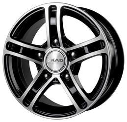 Автомобильный диск Литой Скад Трофи 6,5x15 5/139,7 ET 40 DIA 98,5 Алмаз