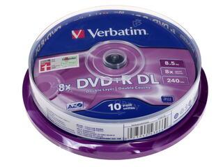 DVD-матрица Verbatim  DVD+R 8.5Gb