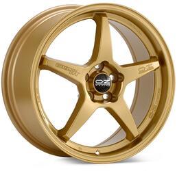 Автомобильный диск Литой OZ Racing Crono HT 8x17 5/114,3 ET 48 DIA 75 Race Gold