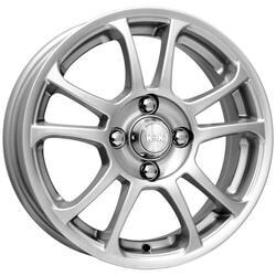 Автомобильный диск Литой K&K Каскад 5,5x14 4/100 ET 35 DIA 67,1 Блэк платинум