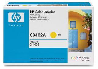Картридж лазерный HP 642A (CB402A)