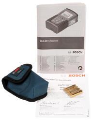 Лазерный дальномер Bosch DLE 40