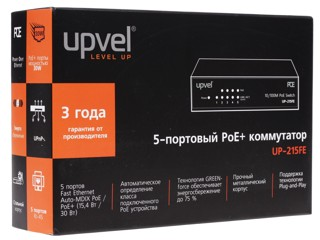 Коммутатор UPVEL UP-215FE