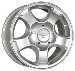Автомобильный диск  K&K УАЗ-Патриот 7x16 5/139,7 ET 35 DIA 108,5 Сильвер