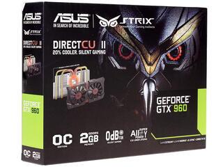 Видеокарта ASUS GeForce GTX 960 [STRIX-GTX960-DC2OC-2GD5]