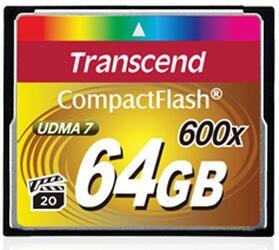 Карта памяти Transcend Compact Flash TS64GCF600 Compact Flash 64 Гб