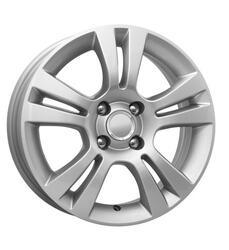 Автомобильный диск Литой K&K КС445 6x15 4/100 ET 39 DIA 56,6 Сильвер
