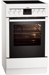 Электрическая плита AEG 47055V9-WN белый
