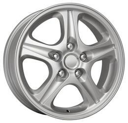 Автомобильный диск  K&K КС308 6x16 5/114,3 ET 46 DIA 67,1 Сильвер