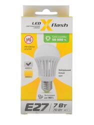 Лампа светодиодная X-Flash XF-BGD-E27-7W-4K-220V